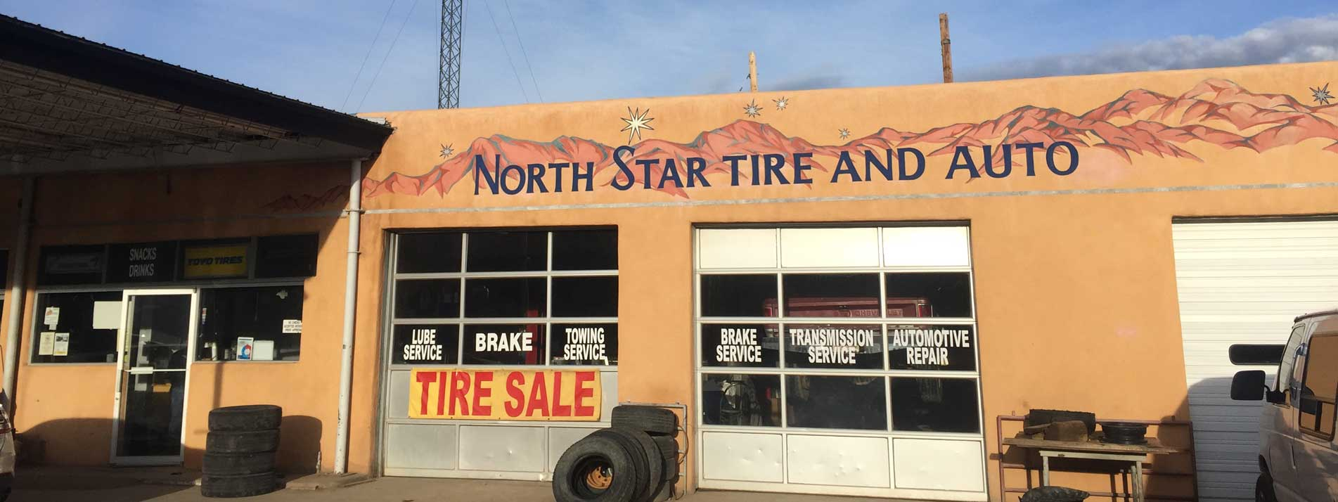 About Northstar Tire & Auto Repair Shop Mechanics in Questa, NM